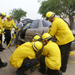 Fire personnel training in vehicle extrication