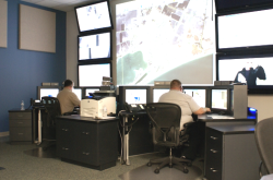 Inside the Communications Center