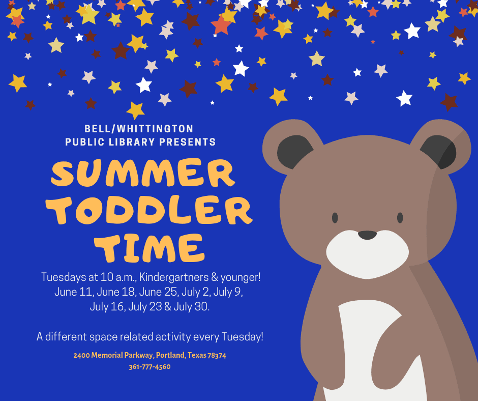 Summer Toddler Time 2019